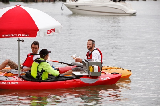 ESPN - Hot Dog Kayak